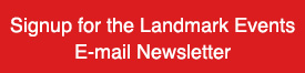 Signup for the Landkark Events E-mail Newsletter