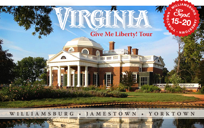 Register to Attend the Give me Liberty! Tour!