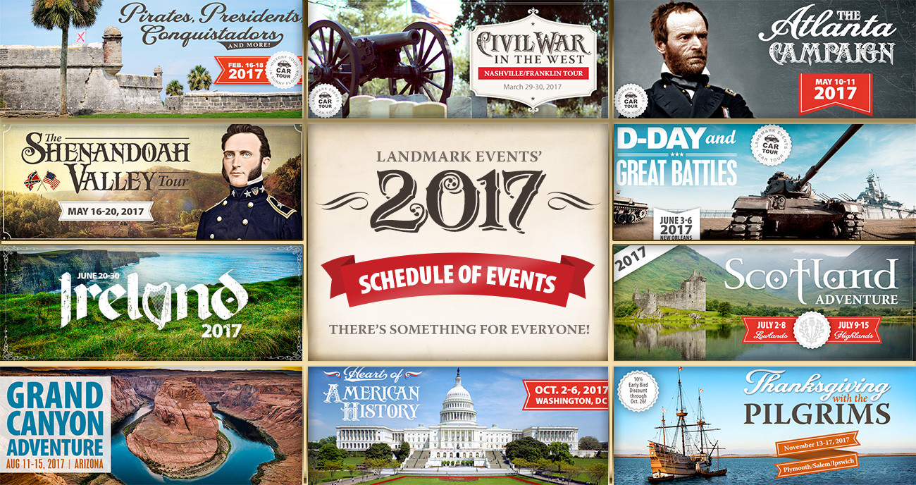 2017 Schedule Update - Scotland Sale, D-Day Open and Ireland Almost Full!