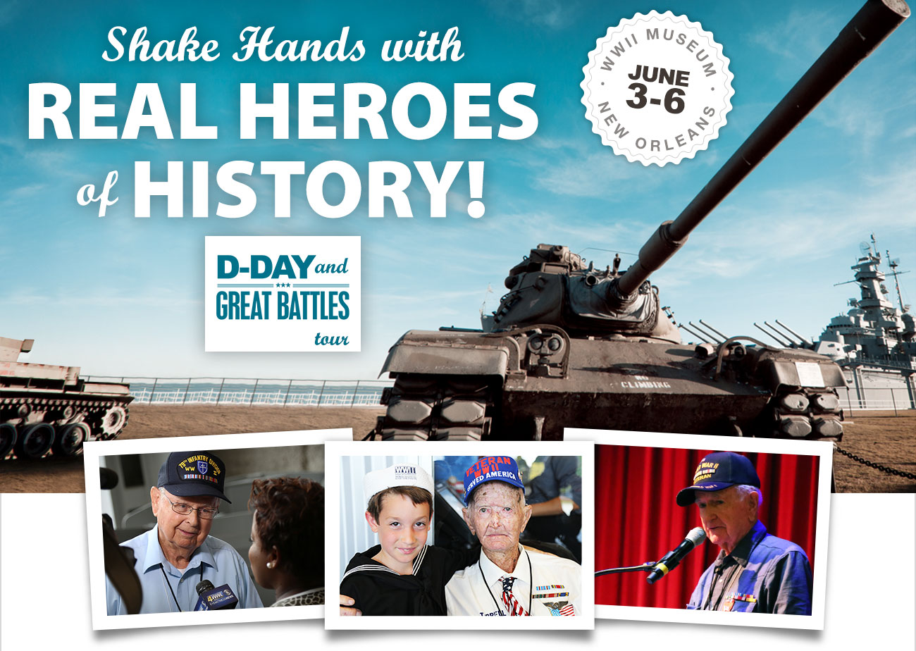 Shake Hands with Real Heroes of History!