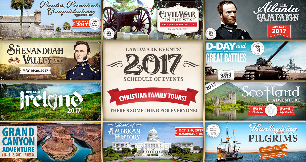News and Notes from Landmark Events 2017 Schedule