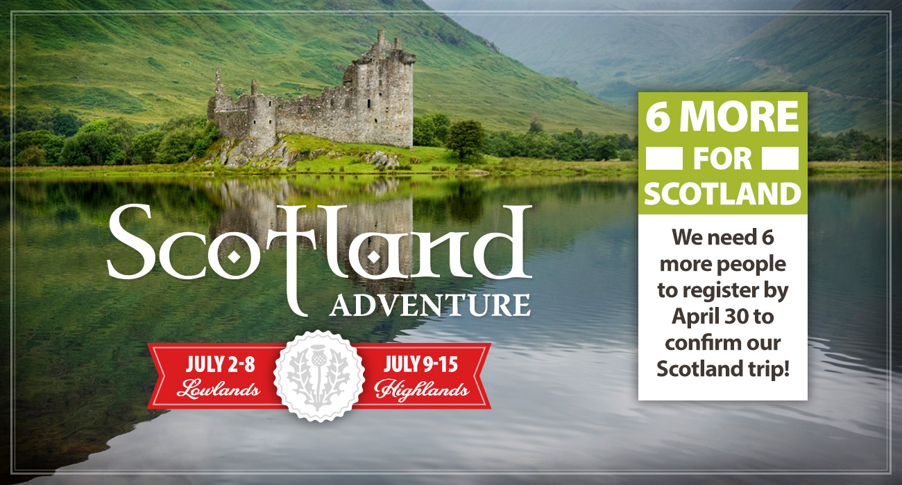 Six More for Scotland!