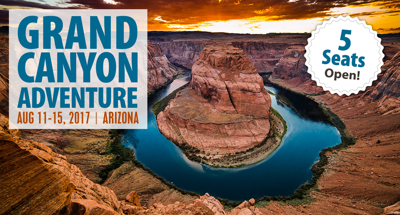 Grand Canyon Adventure Openings & D-Day Tour Last Call