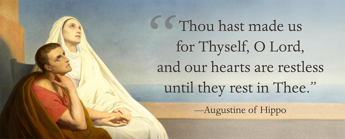 St Augustine Of Hippo Quotes   The Death Of Saint Augustine A D 430 Landmark Events