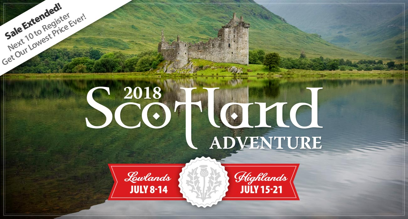 Scotland Sale Extended!