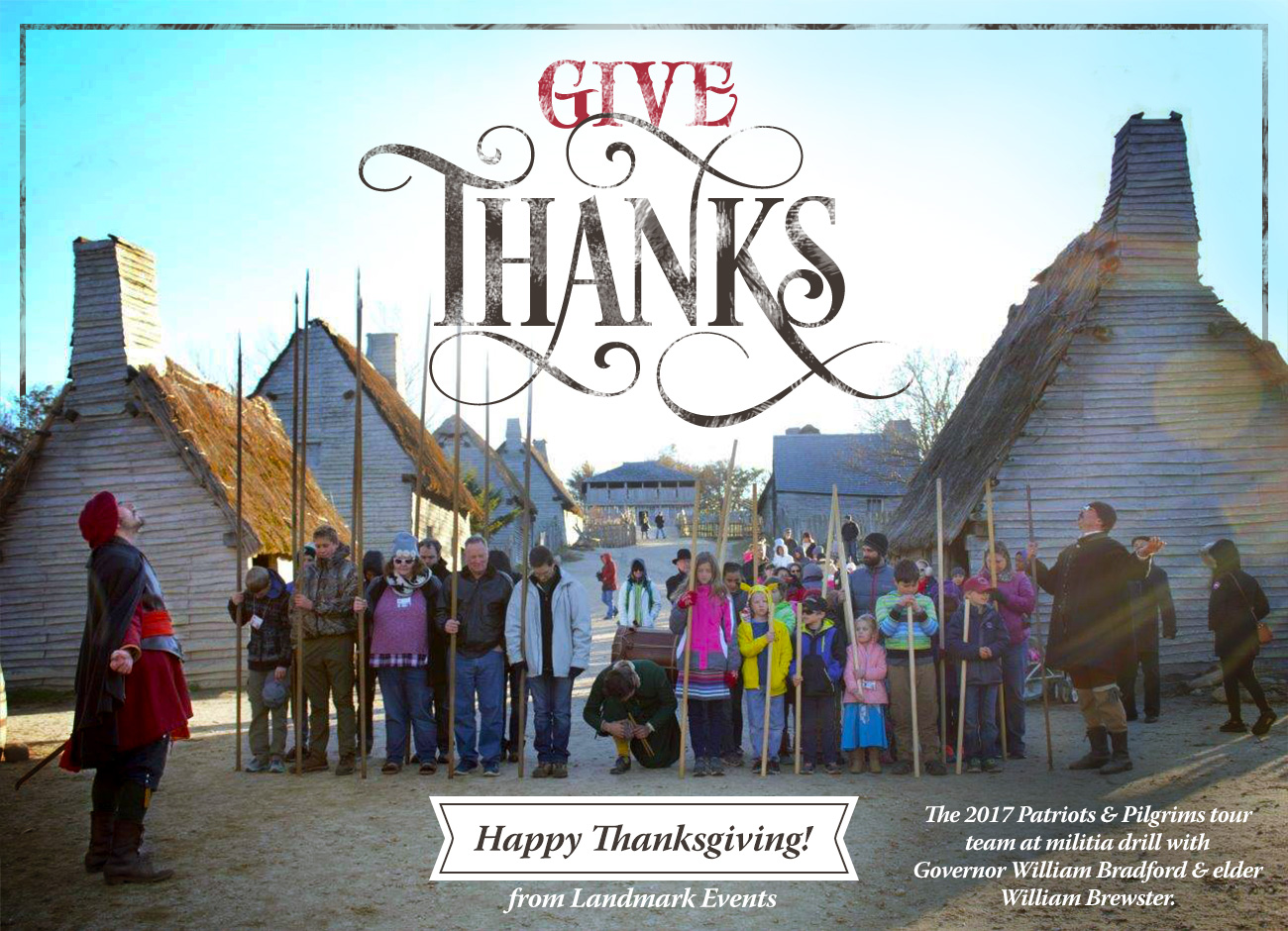 Give Thanks — Happy Thanksgiving from Landmark Events!
