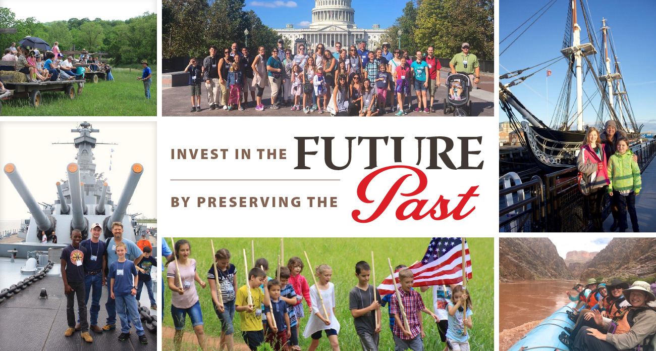Invest in the Future by Preserving the Past