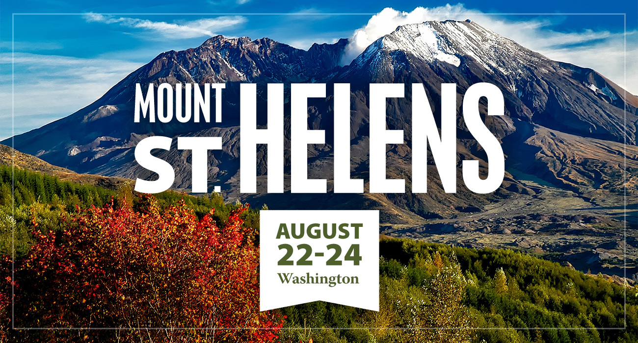 Mount St. Helens Creation Event Open!
