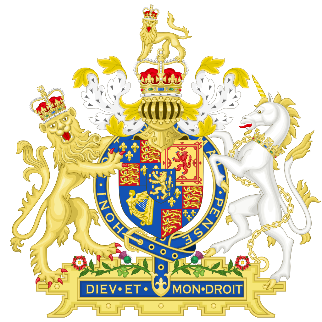 Joint Coat of Arms of William & Mary