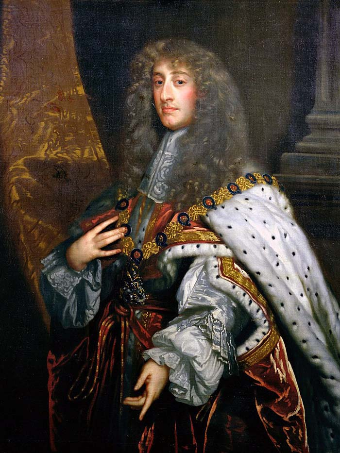 King James II of England (1633-1701)