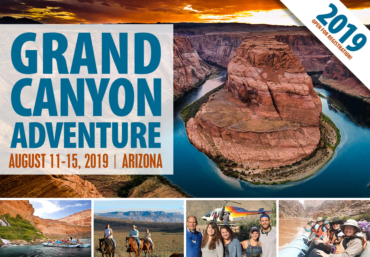2019 Grand Canyon Adventure - Open for Registration!