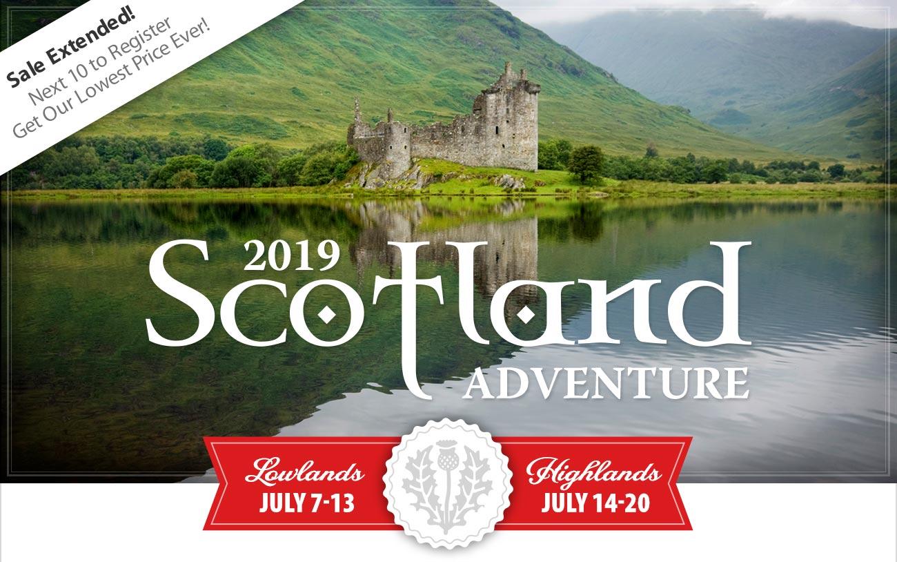 Save $1,000 on Scotland!