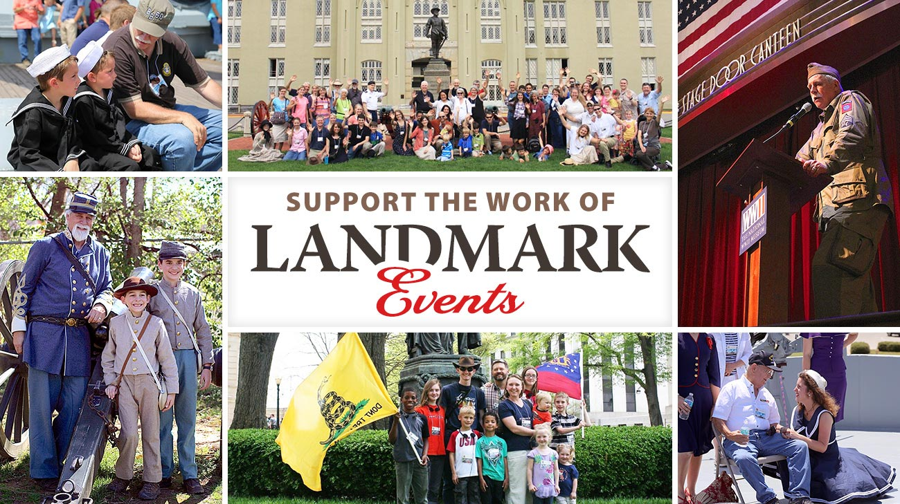 Support the Work of Landmark Events!