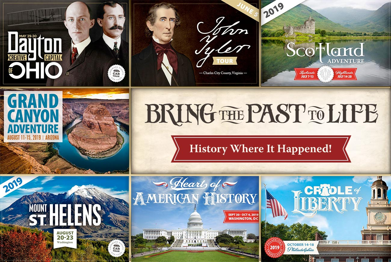 Bring the Past to Life: History Where It Happened!