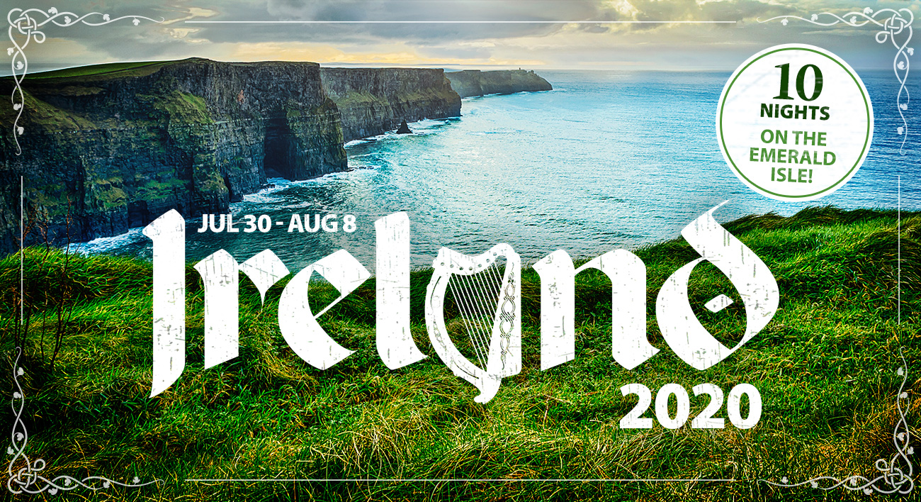 We're Going to Ireland Next Summer!