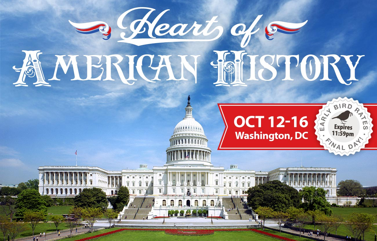 Final Day for DC Early Bird Rates!