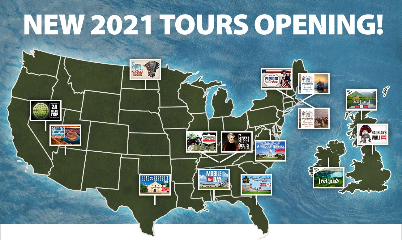 New 2021 Tours Opening!