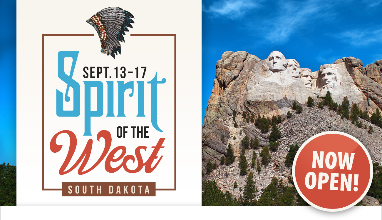 Sprit of the West Tour Open!
