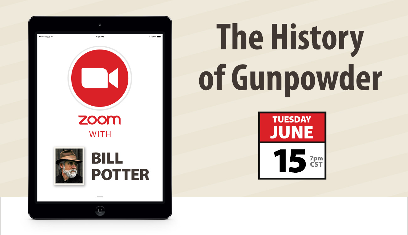 Zoom with Bill Potter: The History of Gunpowder