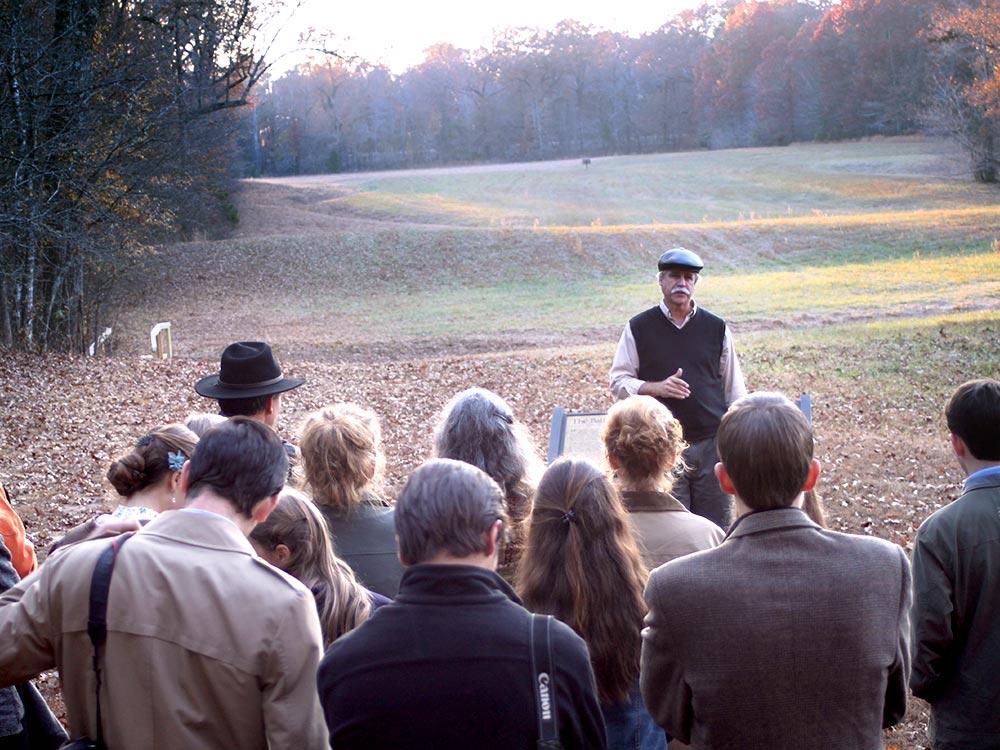 Bill Potter Teaches at Shiloh Battlefield