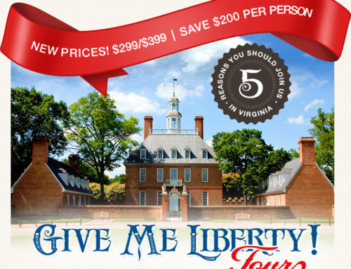 Save $200 Per Person on Family History Tour!