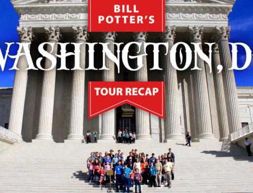 Bill Potter's DC Tour Recap