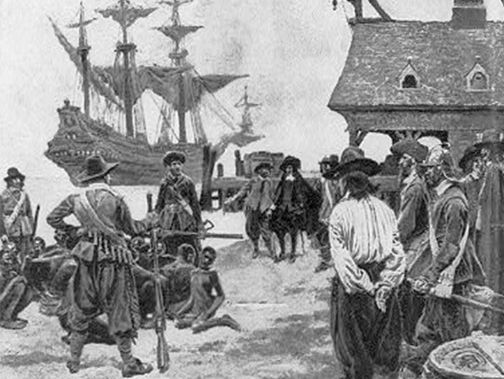 Africans Arrive at Jamestown, 1619