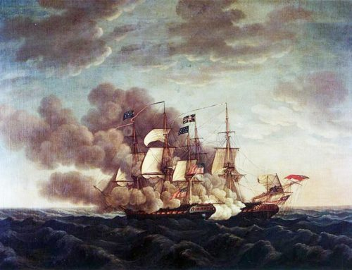 """Old Ironsides"" Defeats HMS Guerriere, 1812"