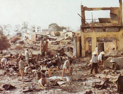 The Tet Offensive in Vietnam War Begins, 1968