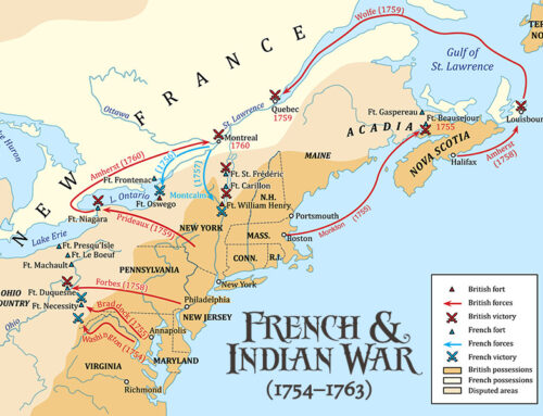 The French and Indian War Ends, 1763
