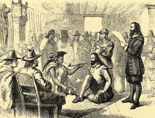 Pilgrim-Wampanoag Treaty Established, 1621