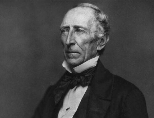 The Inauguration of John Tyler, 1841