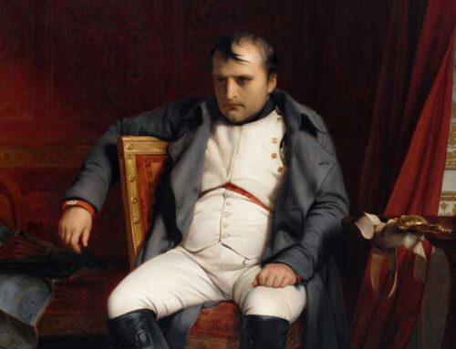 Napoleon Calls It Quits, 1814