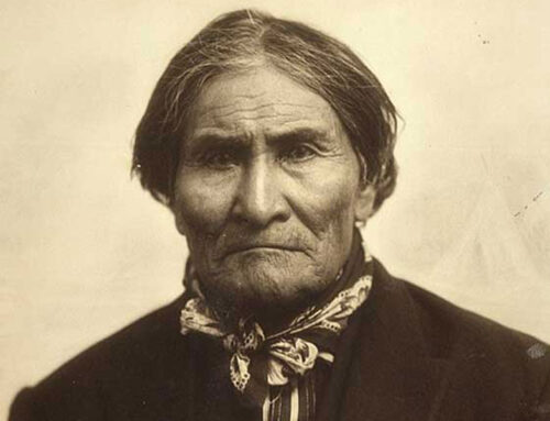 Geronimo Leaves the Reservation, 1886