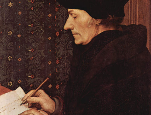 Erasmus Writes a Letter to Martin Luther, 1519