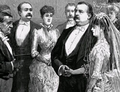 Frances Folsom Marries Grover Cleveland, 1886