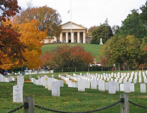 Arlington National Cemetery Established, 1864