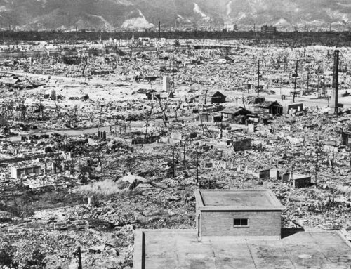 Atomic Bomb Dropped on Hiroshima, 1945