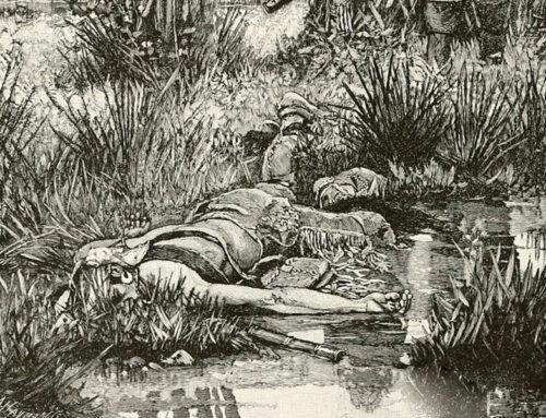 Chief Metacom Killed, 1676