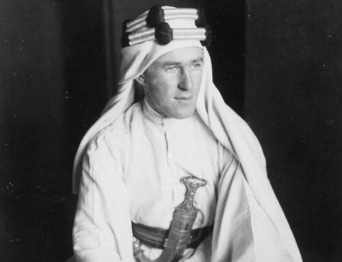 """Lawrence of Arabia"" Born in Wales, 1888"