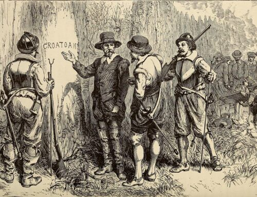 Return to the Lost Colony of Roanoke, 1590