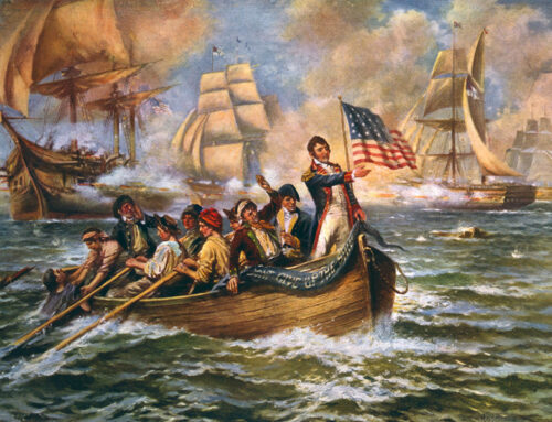 The Battle of Lake Erie, 1813