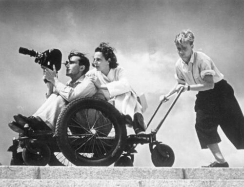 The Death of Filmmaker Leni Riefenstahl, 2003
