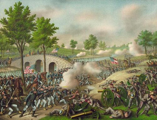The Battle of Antietam, 1862
