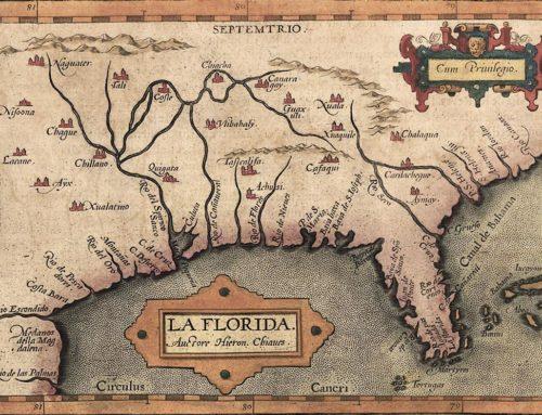 Huguenot Fort Caroline Constructed in Florida, 1565