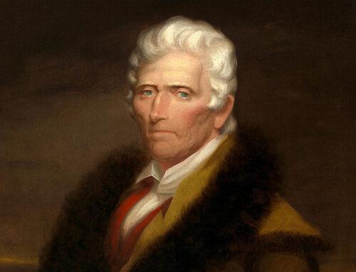 The Death of Daniel Boone, 1820