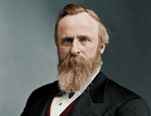 The Birth of Rutherford B. Hayes, 1822