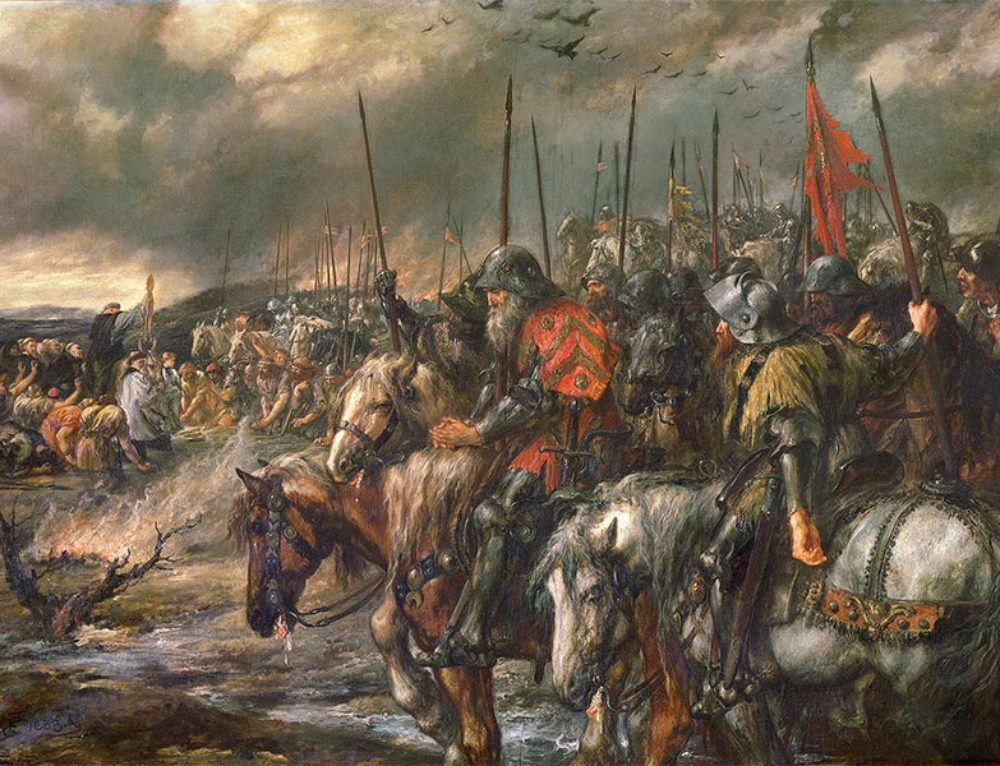 The Battle of Agincourt, 1415