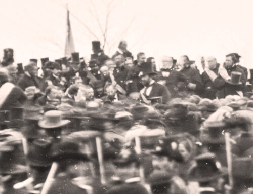 The Gettysburg Address, 1863