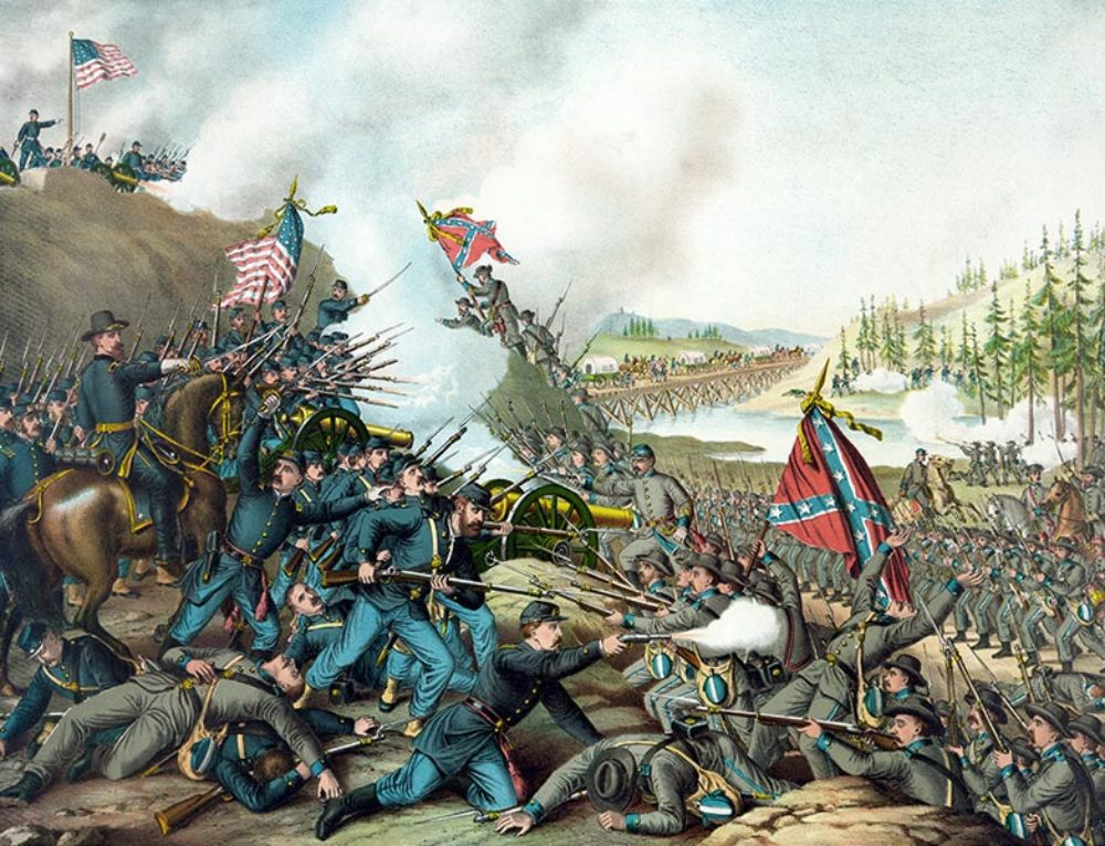 The Battle of Franklin, 1864
